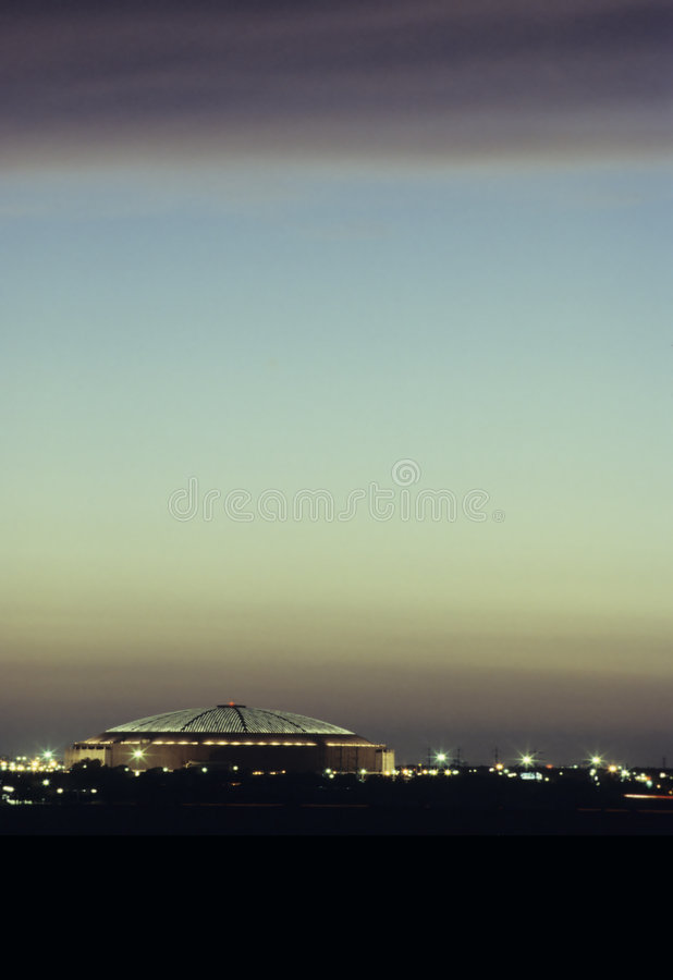 The Astrodome royalty free stock photo
