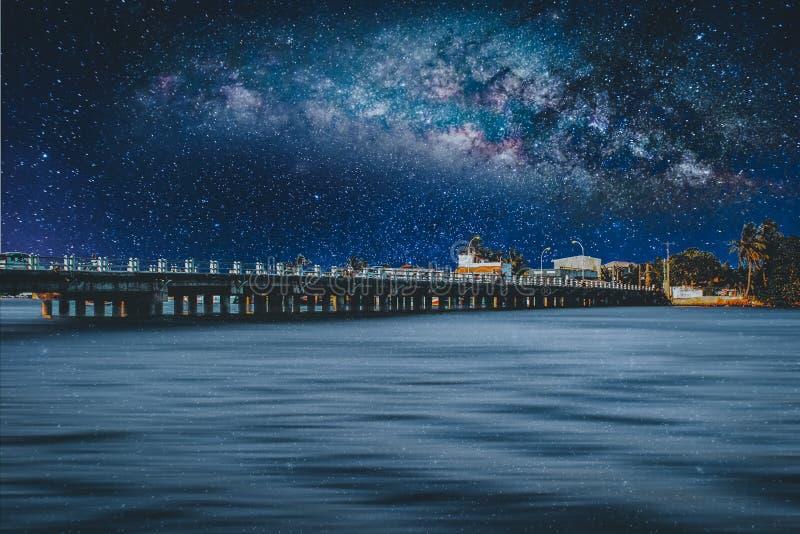 Astrofotografia - fotografia del cielo notturno fotografia stock libera da diritti