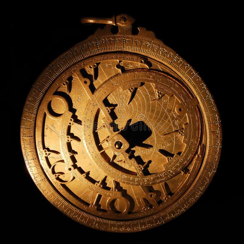 Astrolabe royalty-vrije stock foto's