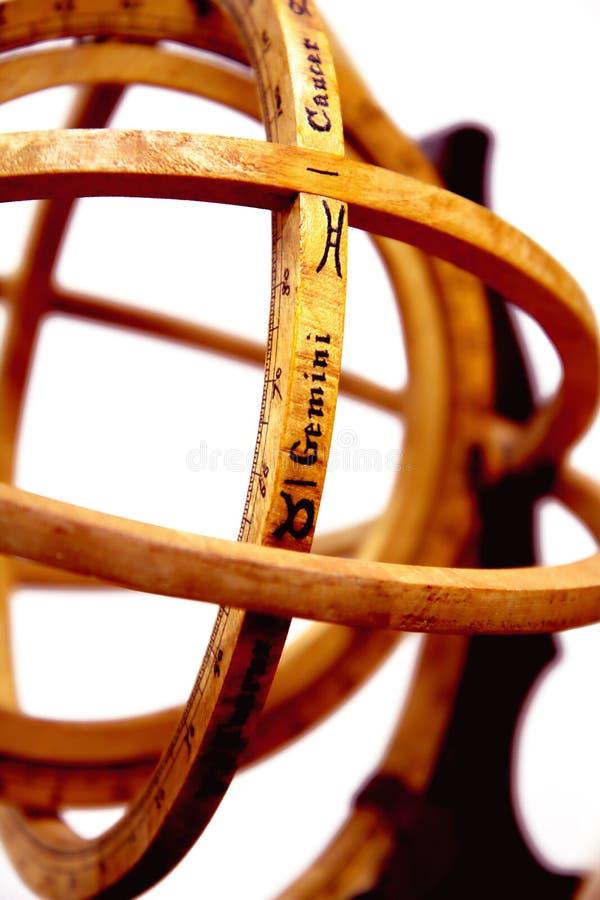 astrolabe sferical photos libres de droits