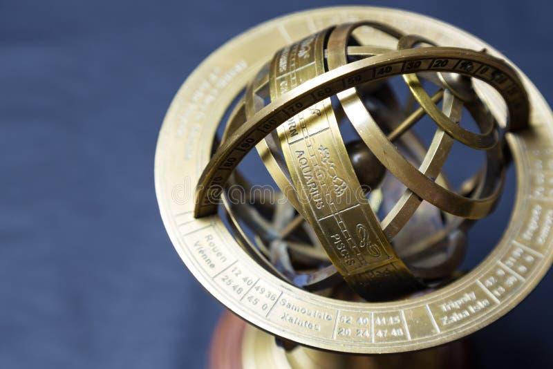 Astrolabio antiguo fotos de archivo libres de regalías