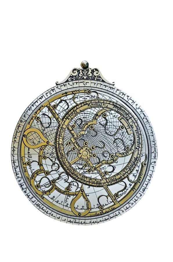 astrolabium royaltyfria bilder