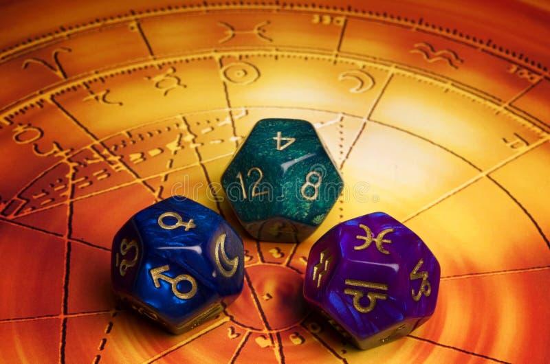 Astrologia e destino fotografie stock libere da diritti