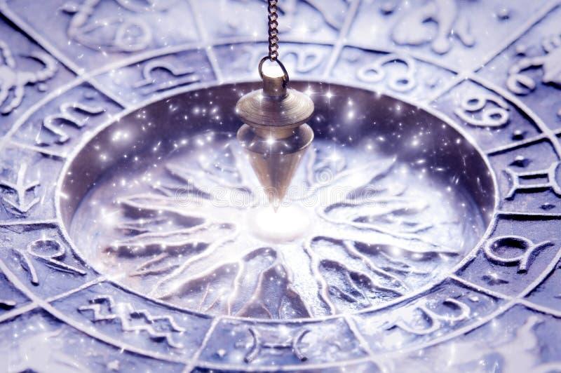 Astrologia magica fotografia stock