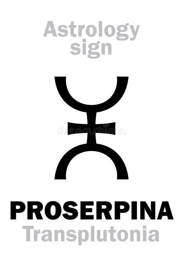 Download Astrologia: Pianeta Supremo PROSERPINA Illustrazione Vettoriale - Illustrazione di astrologia, cinghia: 117977713