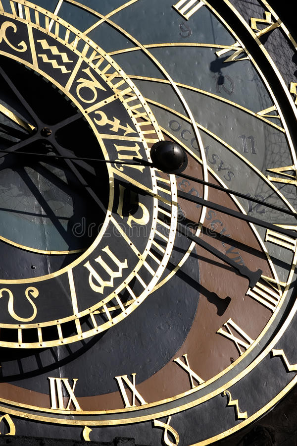 Download Astrological Clock stock photo. Image of astronomy, medieval - 18628488