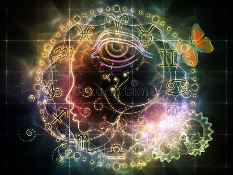 Astrologiczny Profil Fotografia Royalty Free