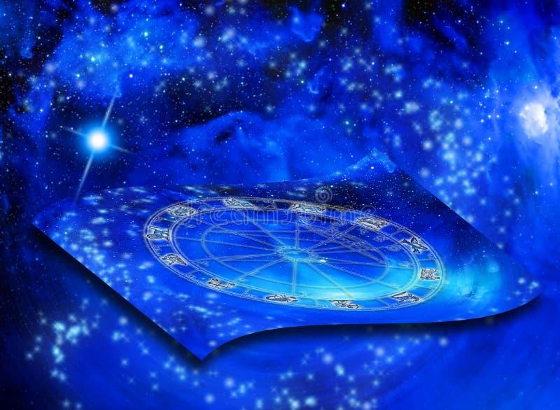 Astrologie illustration de vecteur