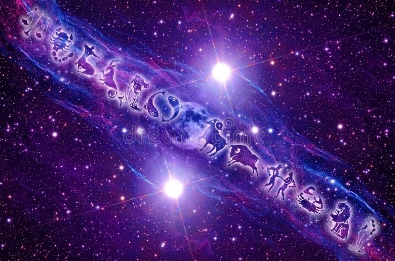 Astrologie stock abbildung