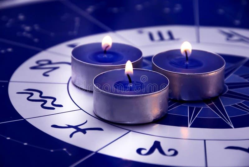 Astrologie royalty-vrije stock foto's