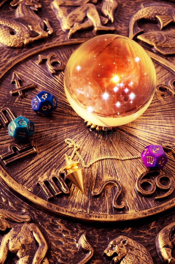 Astrologie royalty-vrije stock foto