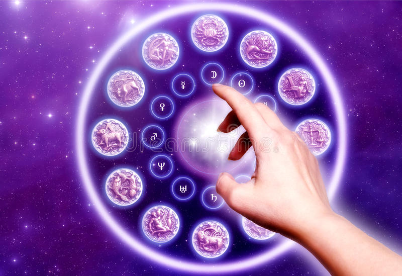 Astrologie vektor abbildung