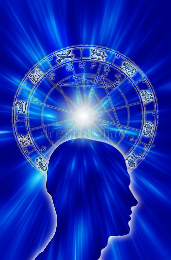 Astrologie royalty-vrije illustratie