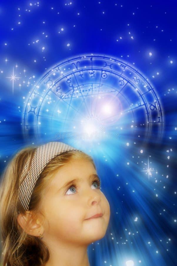 Astrologie und Zukunft lizenzfreies stockbild
