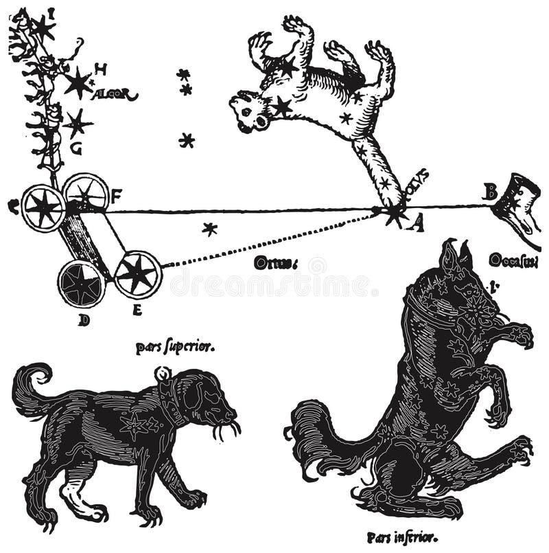 Astrologieinzameling 15 stock illustratie