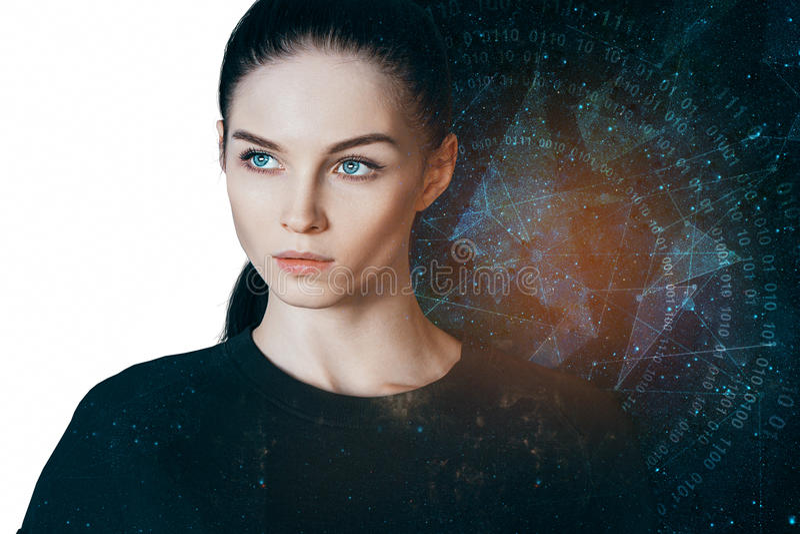 Astrologiekonzept stockbilder