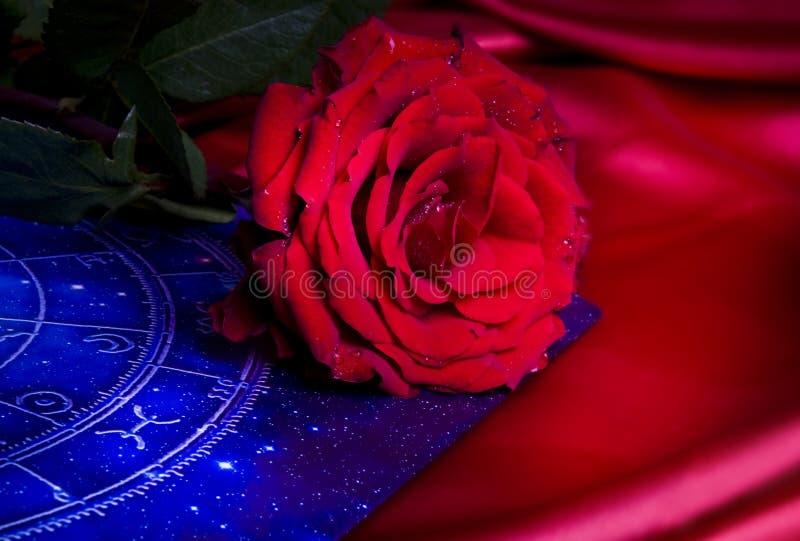 astrologiromantiker royaltyfri foto