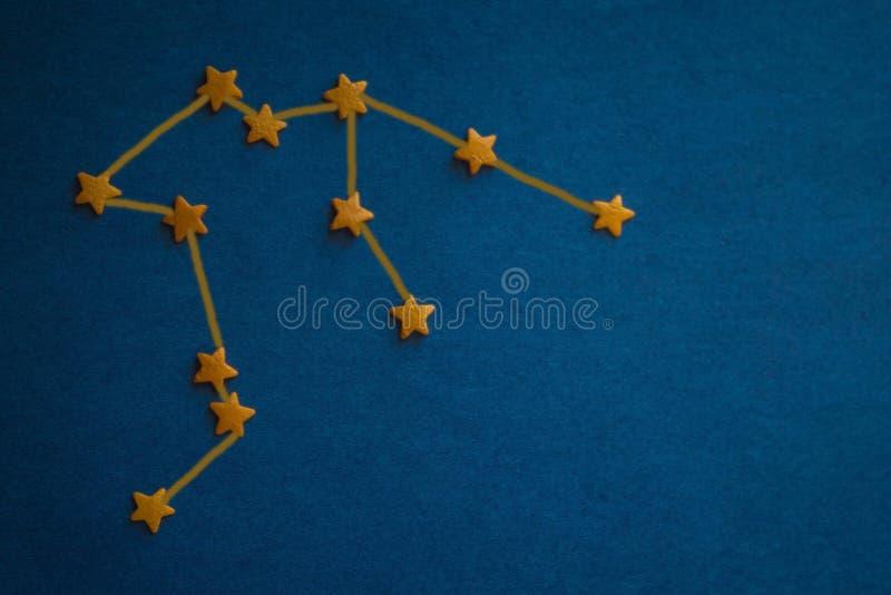 Astrologische Prognose, Horoskop lizenzfreie stockfotografie
