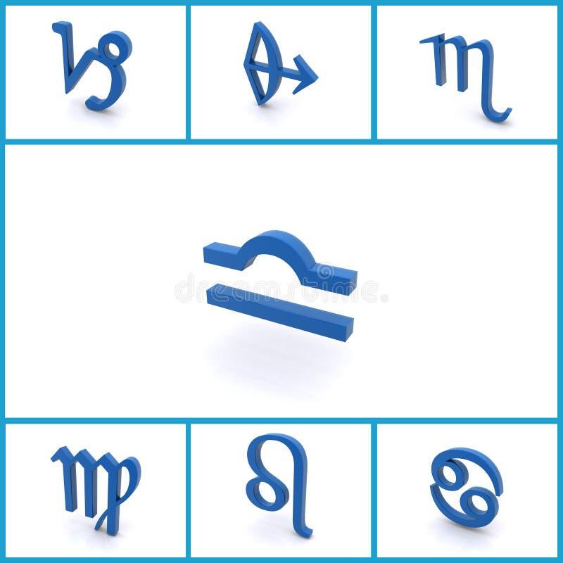 Astrologische Symbole vektor abbildung