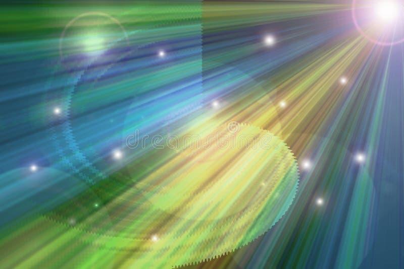 Astrologische voorspelling vector illustratie