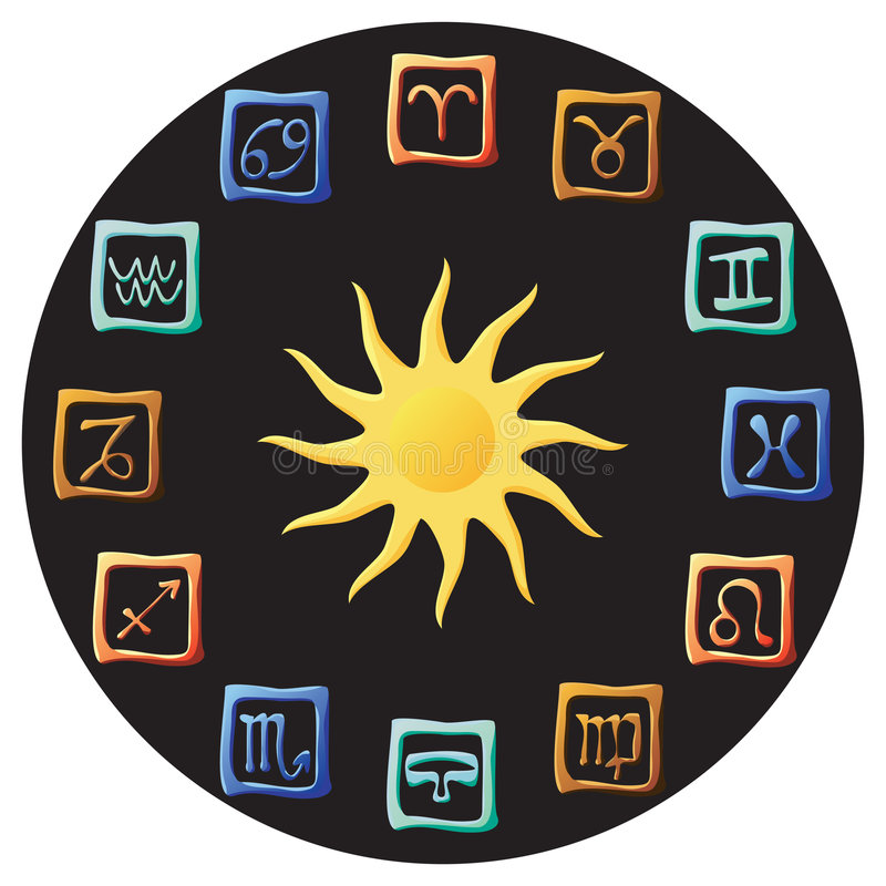 Astrology vector illustration