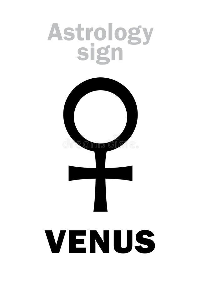 Free Astrology: Planet VENUS &x28;female&x29; Royalty Free Stock Photography - 86524057