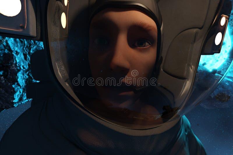 astronauci ilustracji