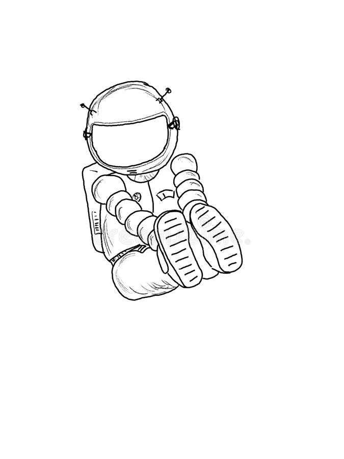 Astronaut_11 royalty free stock photos