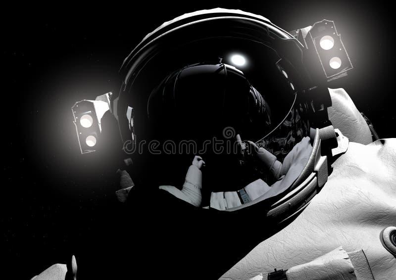 The astronaut stock illustration