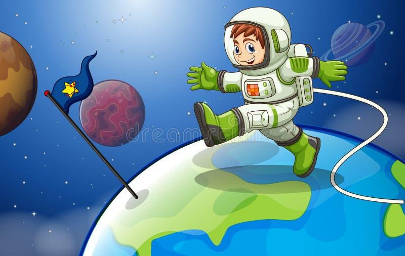Astronaut vector illustratie