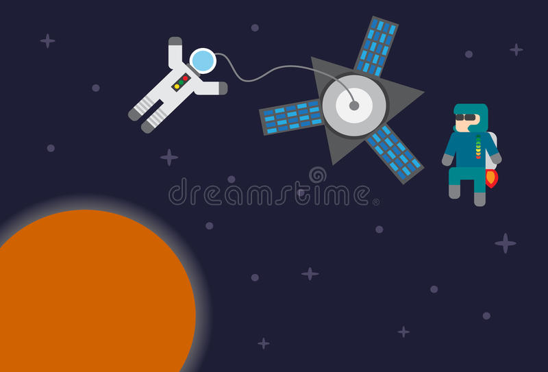 Astronaut lizenzfreie stockfotografie