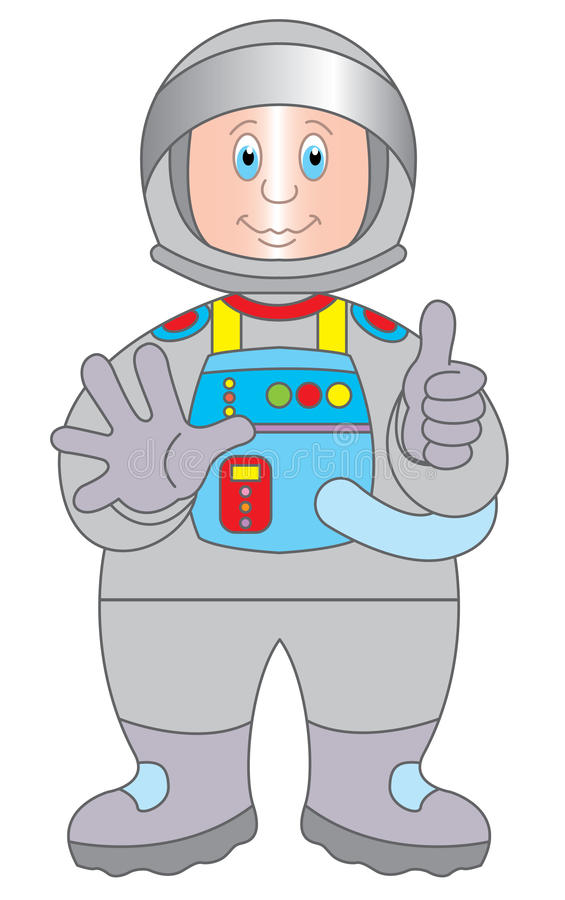 Download Astronaut Cartoon Illustration Stock Vector - Image: 11794182