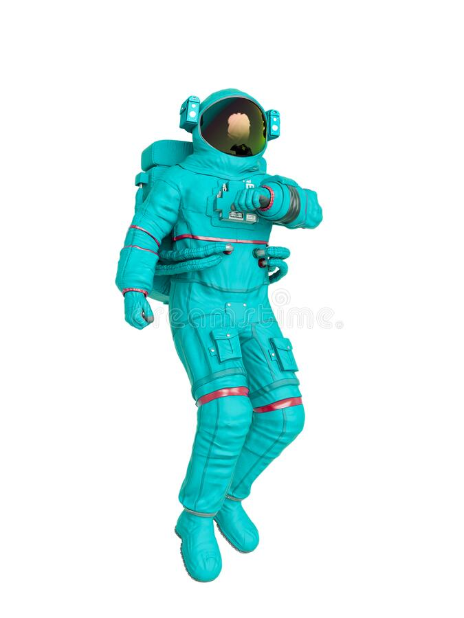 Free Astronaut Checking Air Stock Photos - 215031213