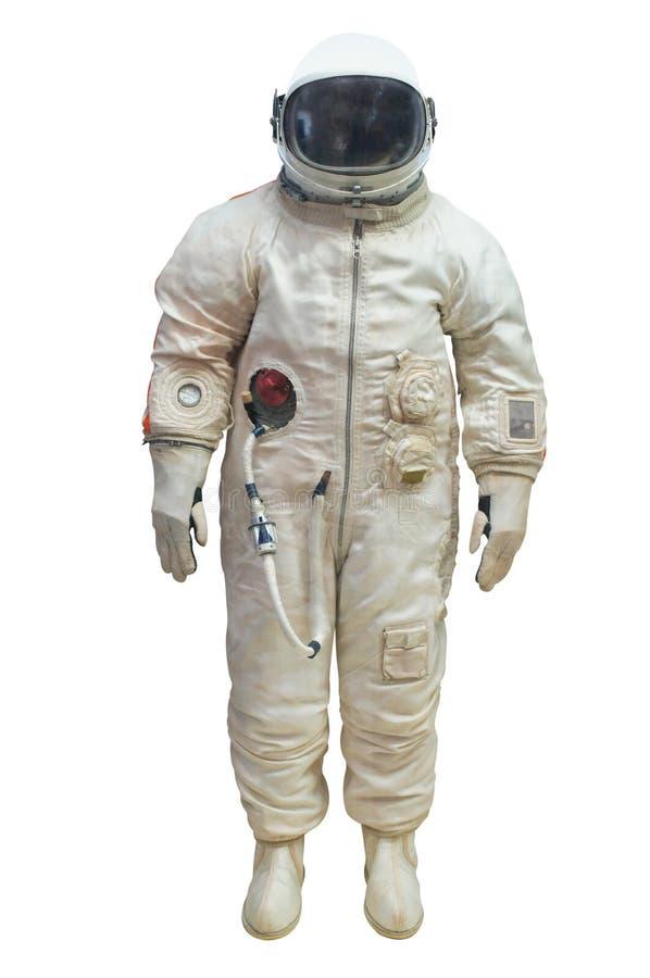 Astronaut i en spacesuit arkivfoto