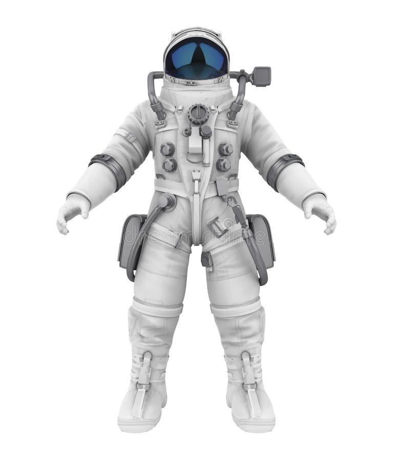Astronaut Isolated royalty free illustration