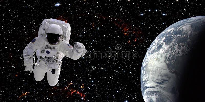 Astronaut in ruimte