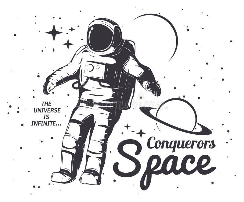 astronaut silhouette vector - photo #27