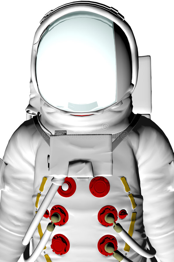 Astronauta ilustração stock
