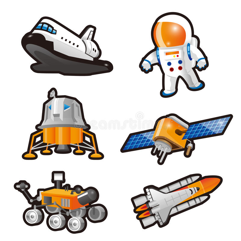 Astronauta illustrazione di stock
