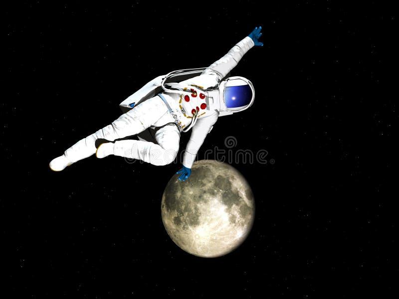 Astronauta 50 stock de ilustración