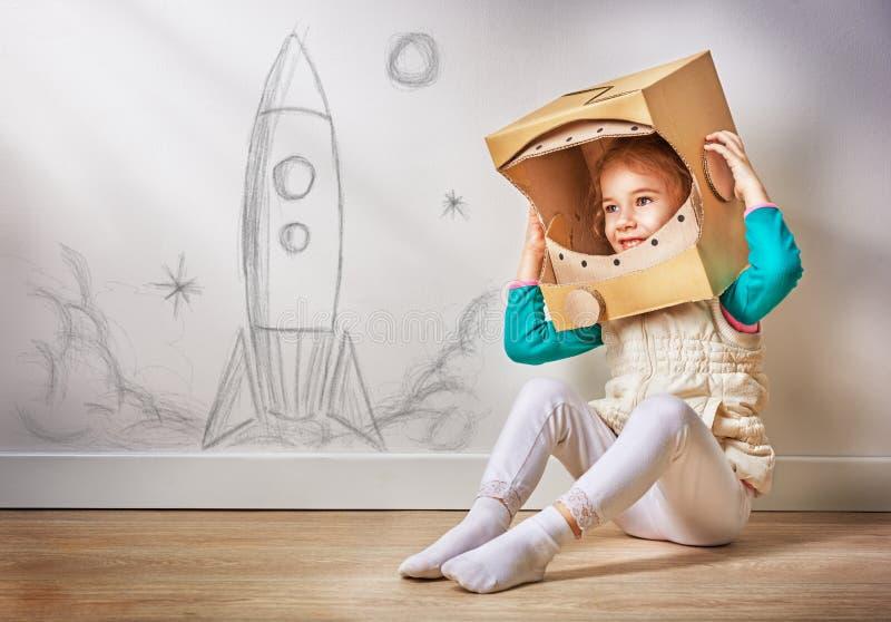 Astronauta imagem de stock