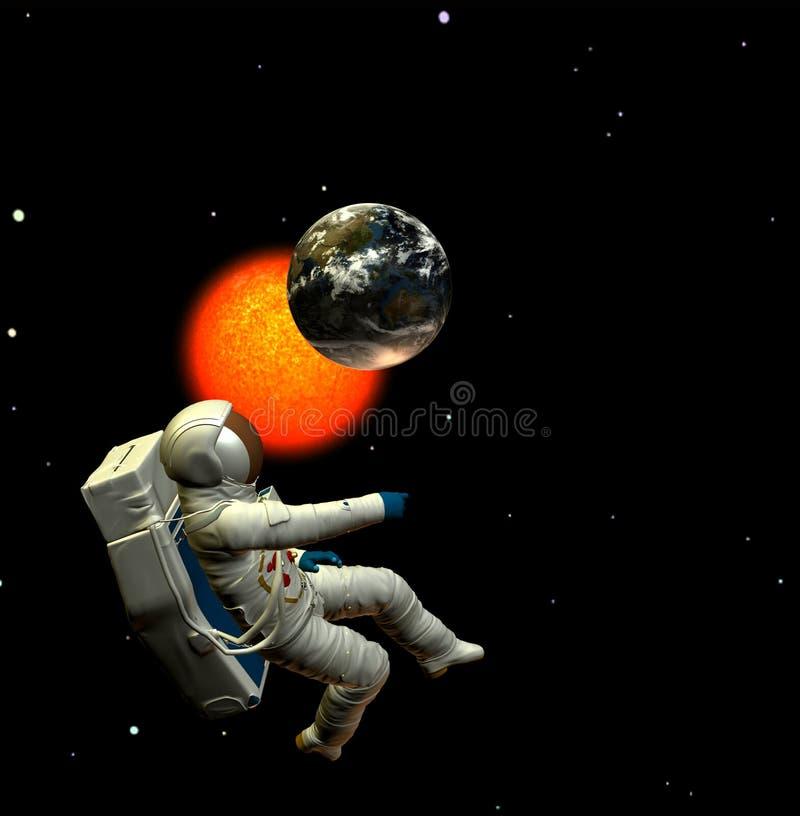 Astronauta 7 libre illustration