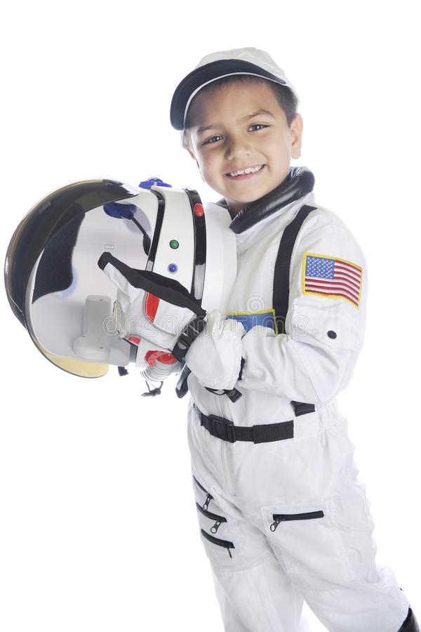 Astronauta americano To Be imagem de stock royalty free