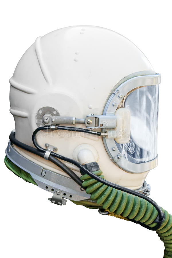 Astronauta/capacete piloto imagem de stock