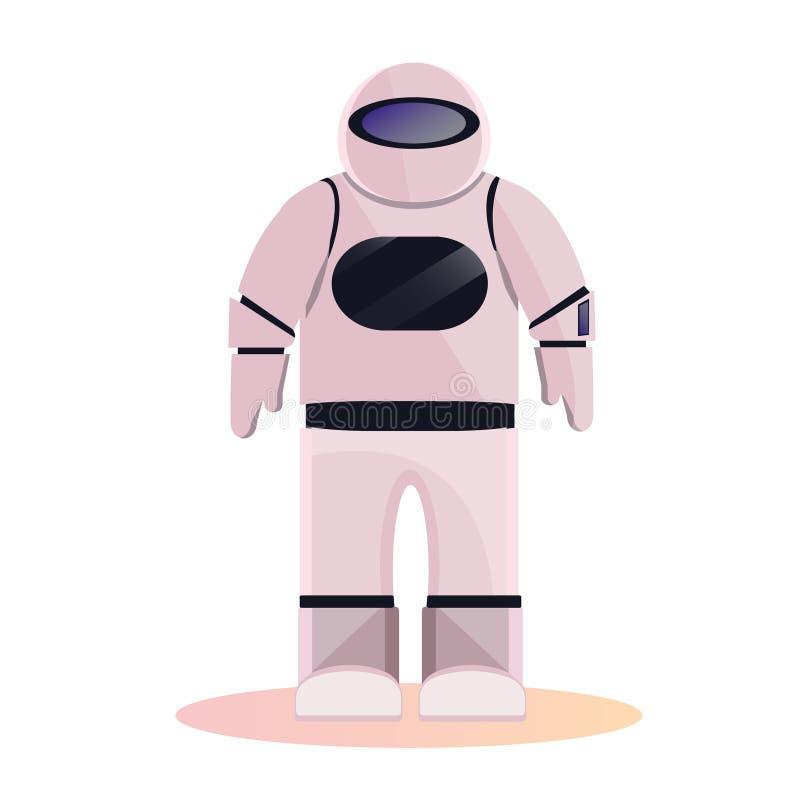 Astronauta do espaço, astronauta ilustração royalty free