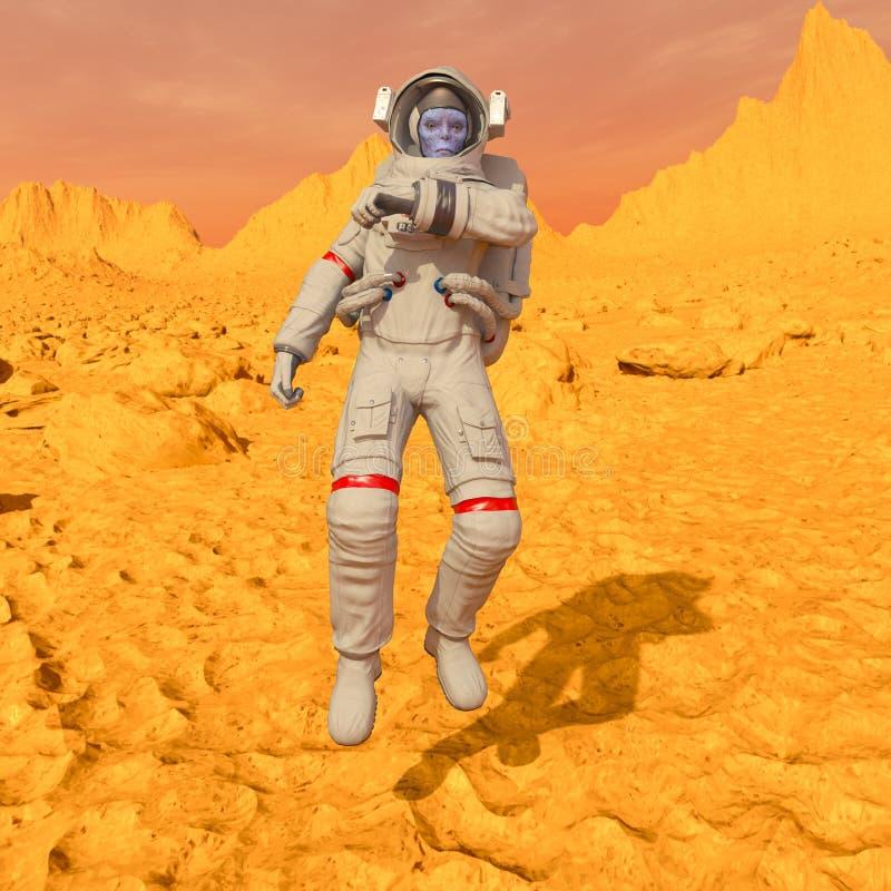 Astronauta dos estrangeiros foto de stock royalty free