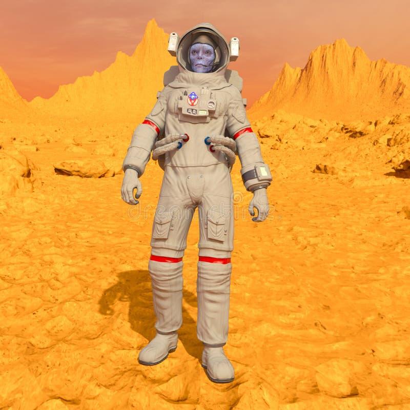 Astronauta dos estrangeiros imagens de stock