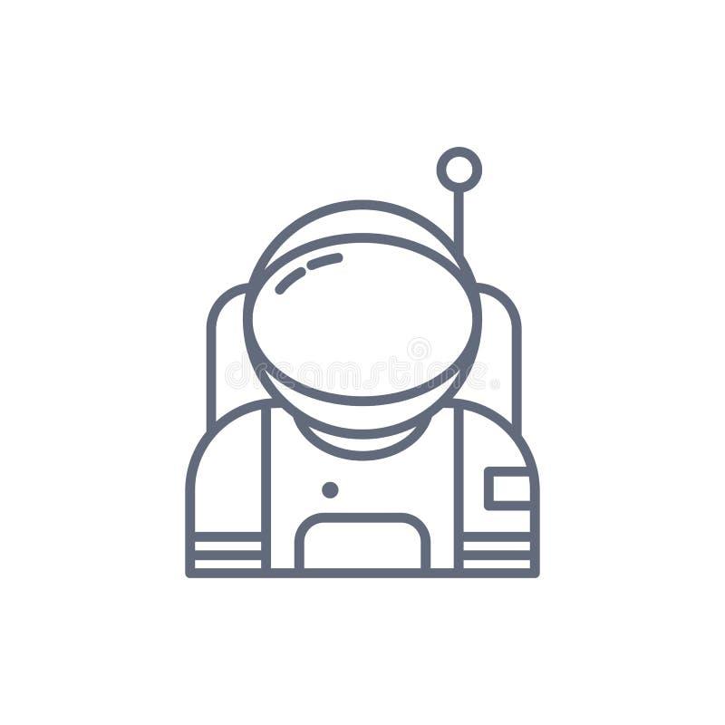 Astronauta en icono del espacio Elementos del icono del espacio Dise?o gr?fico de la calidad superior Muestras, colecci?n de los  libre illustration