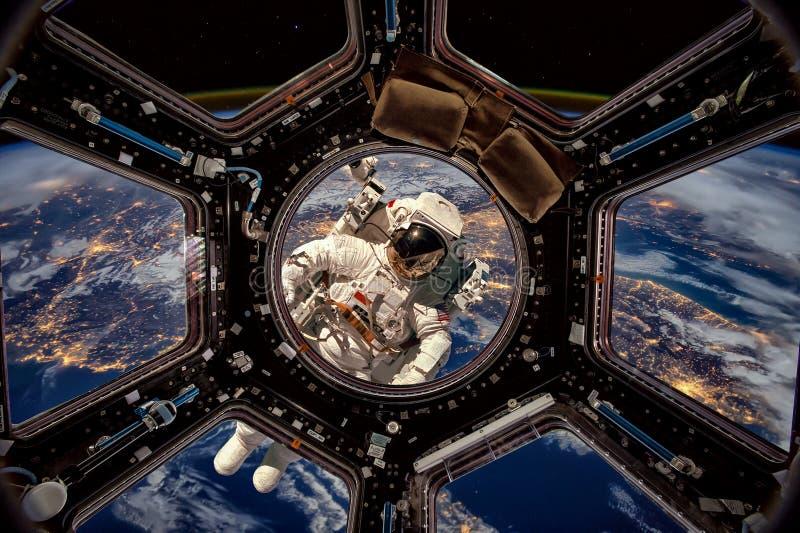 astronauta kosmos fotografia stock
