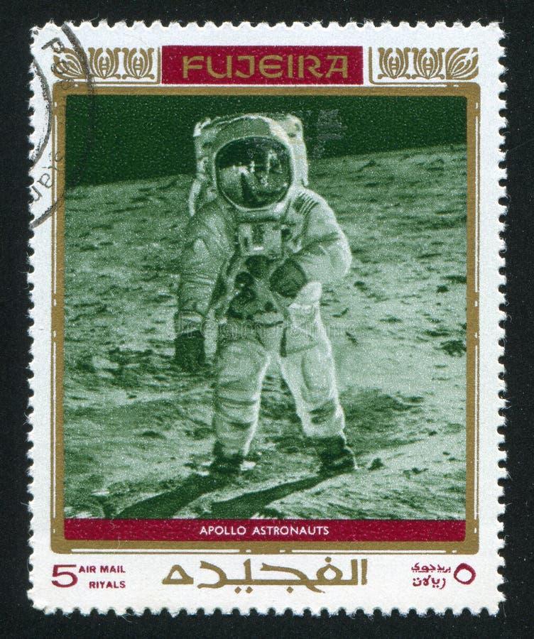 Astronauta Neil Alden Armstrong fotografia de stock